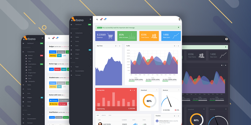 Arbano Vue.js Bootstrap Admin Template